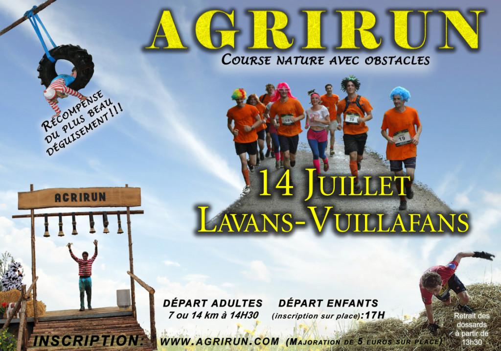 Affiche Agrirun 2015